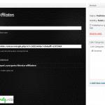 Add affiliate link
