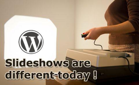 Slideshows in WordPress