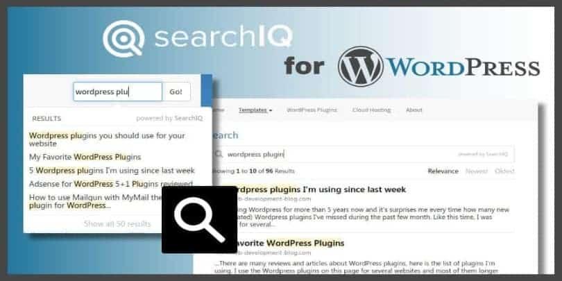 SearchIQ for WordPress
